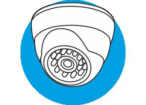 Купольная видеокамера